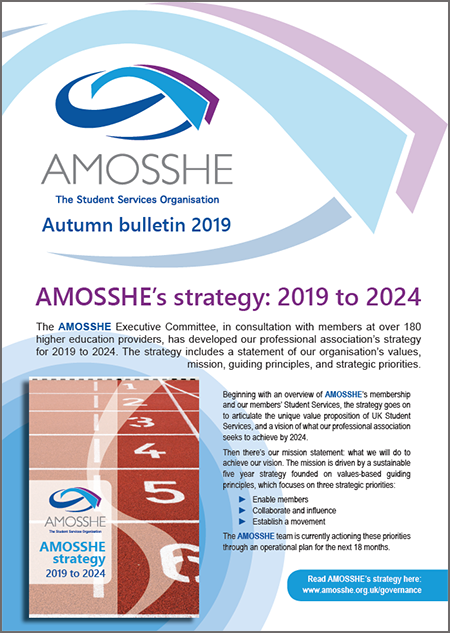 AMOSSHE bulletin (opens in a new window)