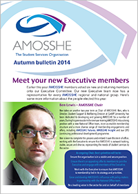 AMOSSHE bulletin autumn 2014 (opens in a new window)