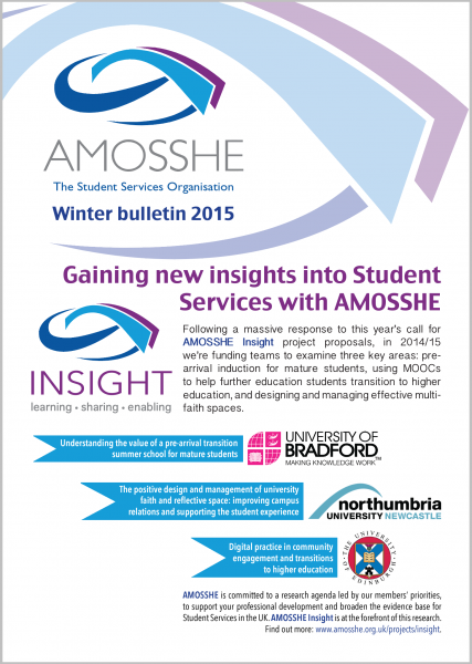 AMOSSHE bulletin winter 2015 (opens in a new window)