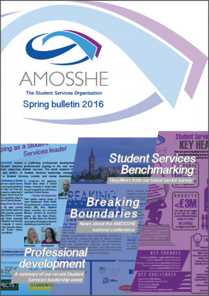 AMOSSHE bulletin spring 2016 (opens in a new window)